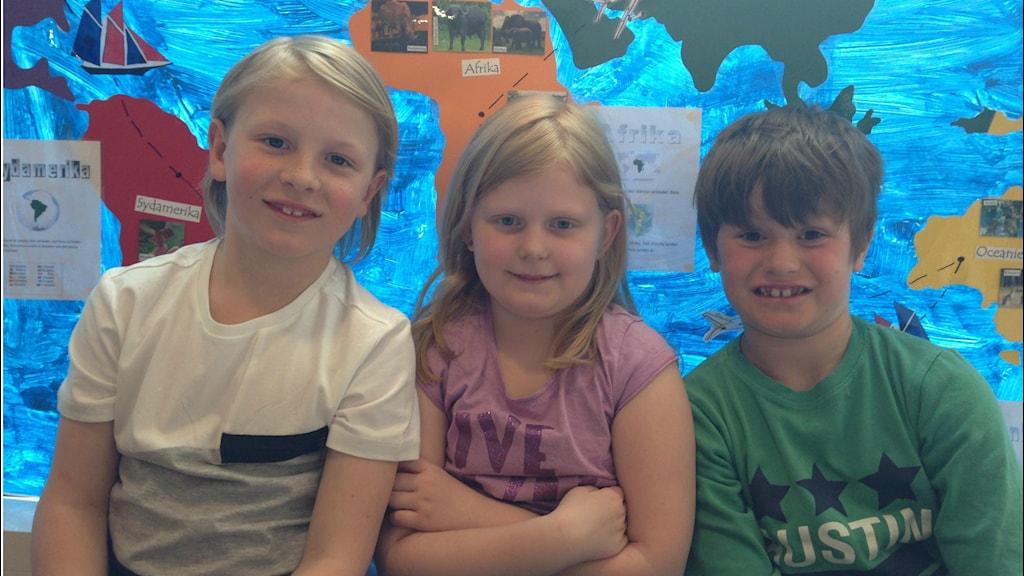 barn Max bergkvist Jenny Hallberg och Aaron Murphy
