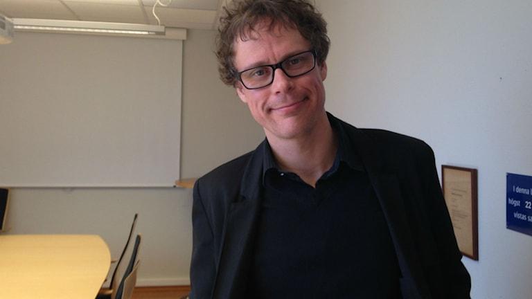 Robert Johansson från Religionsvetarna. Foto: Jenny Josefsson P4 Skaraborg