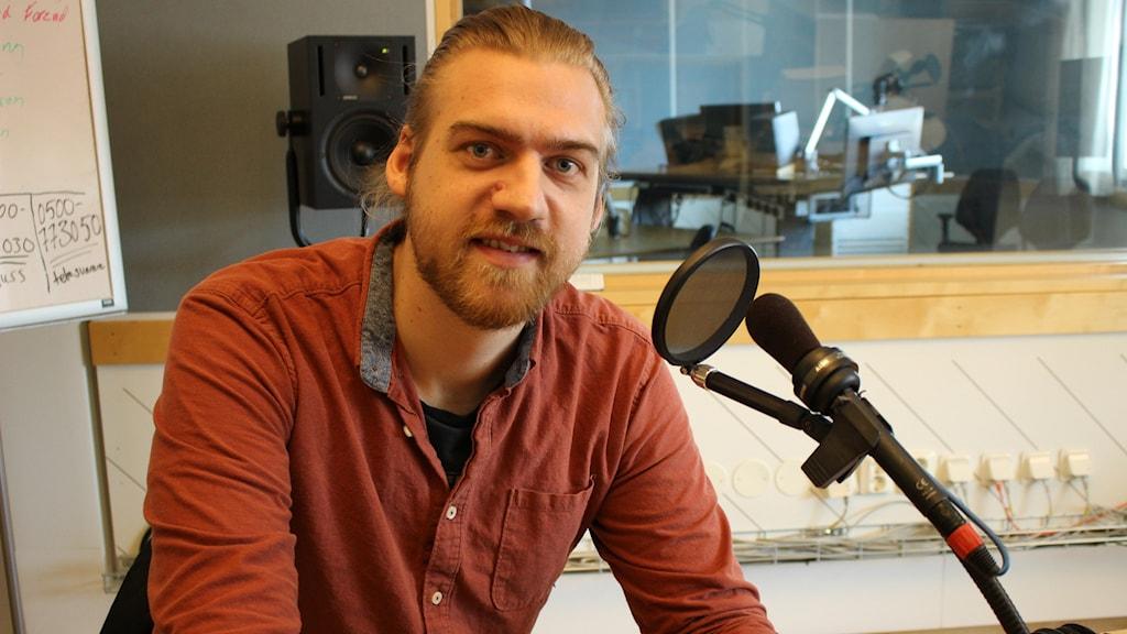 Martin Eriksson i studion