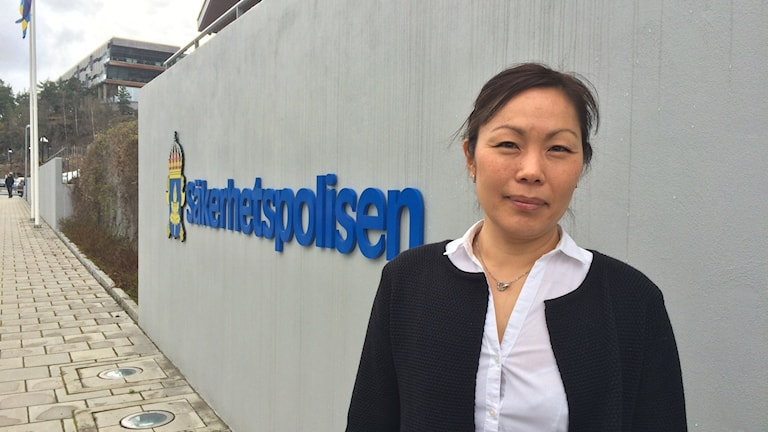 Ahn-Za Hagström, chefsanalytiker på SÄPOS avdeling för författningsskydd.