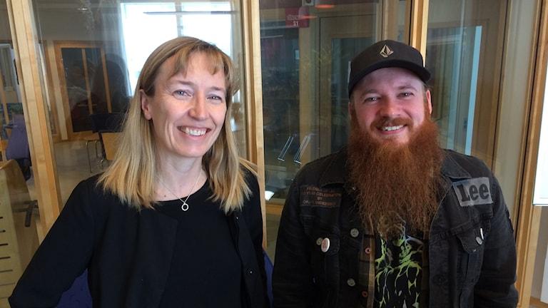 Christina Jonsson och Joakim Nilsson