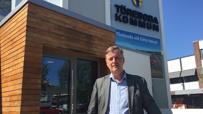 Töreboda kommunalråd Bengt Sjöberg (M)