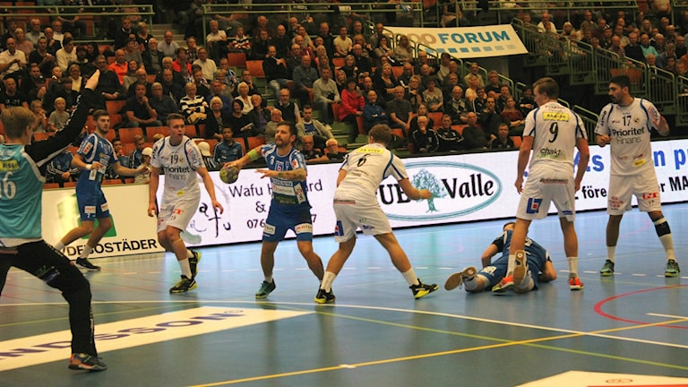 IFK Skövde tog en viktig seger. Foto Arkiv Tommy Järlström P4 Sveriges Radio.