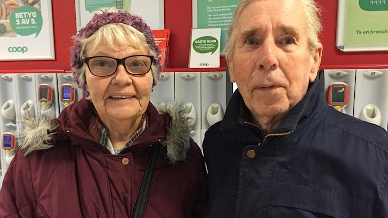 Karin och Gunnar Nilsson från Skövde.