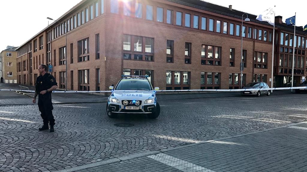 lidköping kommunhus bombhot