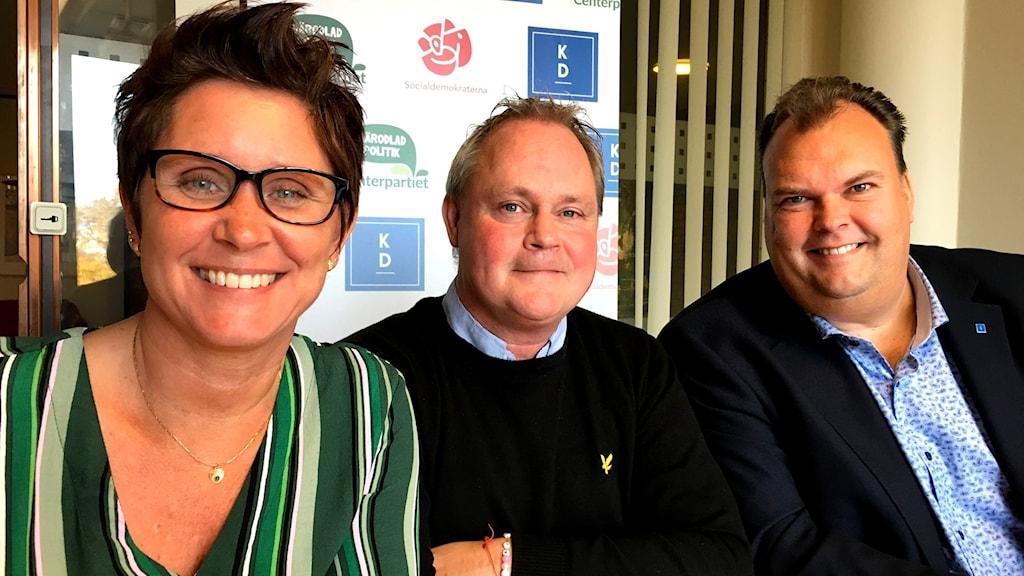 Karola Svensson, Dan Gabrielsson och Dan Hovskär