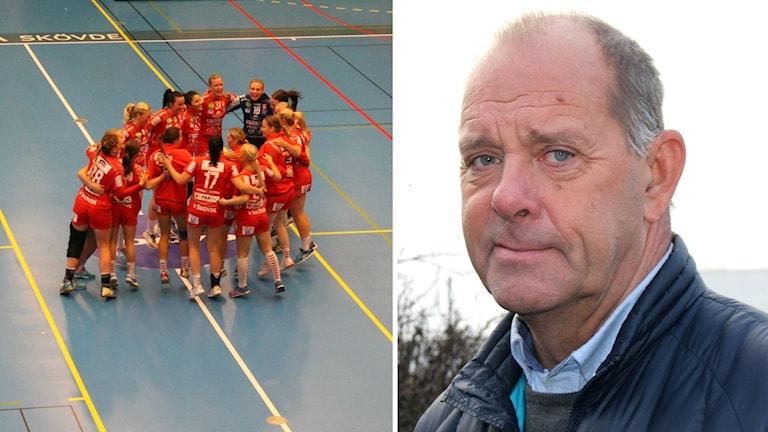 Skövde HF och ordföranden Anders Löfvenborg
