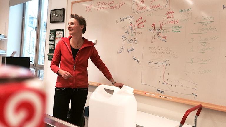Katarina Ejeskär, cancerforskare på Högskolan i Skövde.