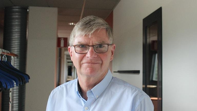 Rogher Selmosson fortsatt ordförande i Villa. Foto Tommy Järlström P4 Sveriges Radio.