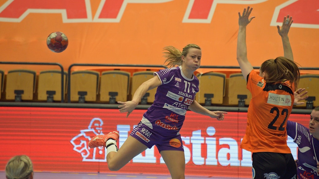 Mikaela Johansson och Skara HF har nu tre matchbollar på sig att slå ut Kristianstad.
