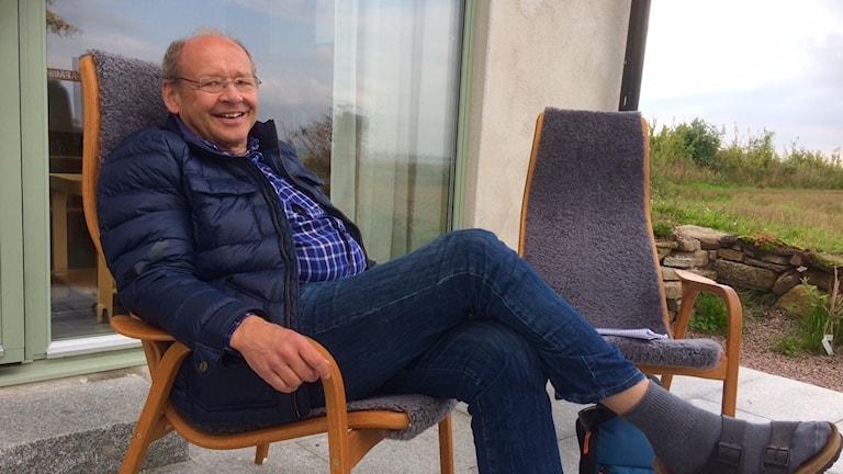 Håkan Andersson, psykriatiker Broddetorp berättar om olika sätt att för¨hålla sig till tid.