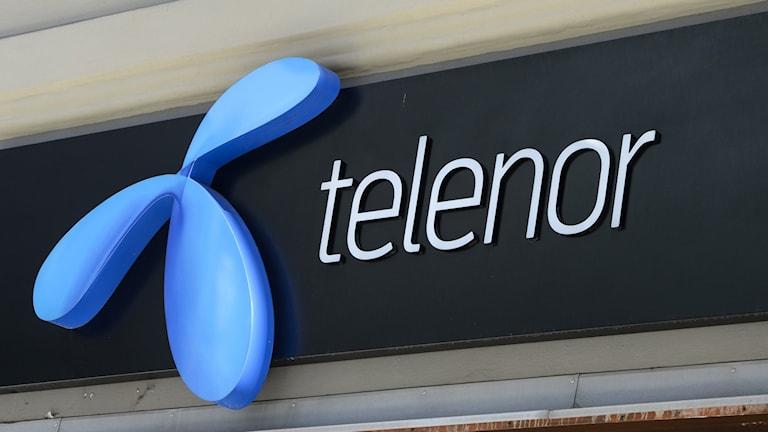 Mobiloperatören Telenors logotyp.