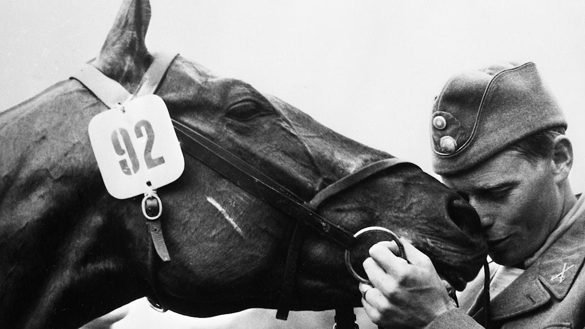 Petrus Kastenmans OS-guld i fälttävlan 1956 på hästen Illuster.