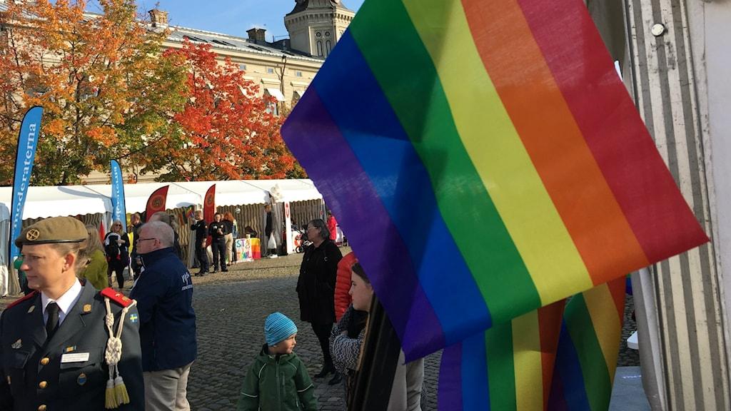 Pride inleds i Skövde