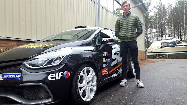 Joel Jern, 16-årig racingtalang från Skara.