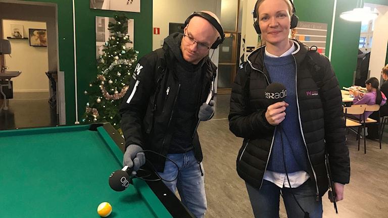 Christopher Johansson och Linnéa Frimodig
