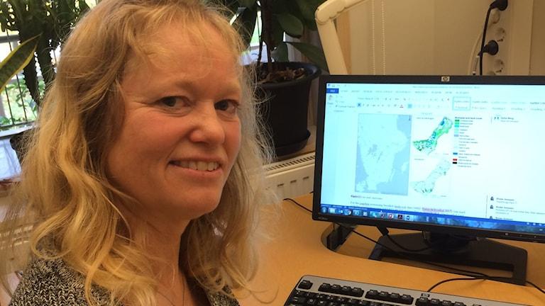 Annie Jonsson forskar om ekologisk modellering