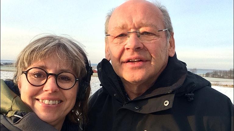 Carina Grönqvist och Håkan Andersson