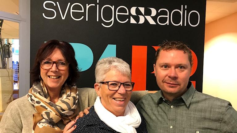 Annika Grimmevid, Gunilla Särevik-Davidsson och Benny Andersson