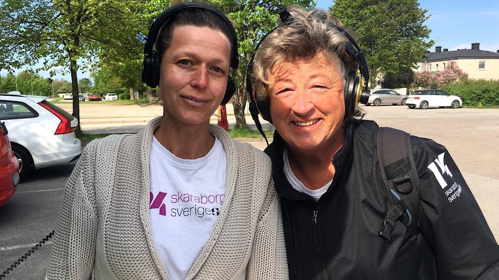 Katarina och Ewa i Gullspång