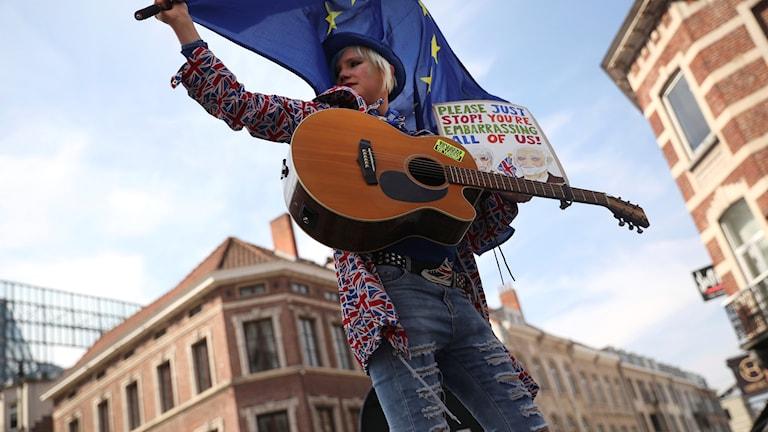 Lämna EU FOTO Francisco Sec::AP