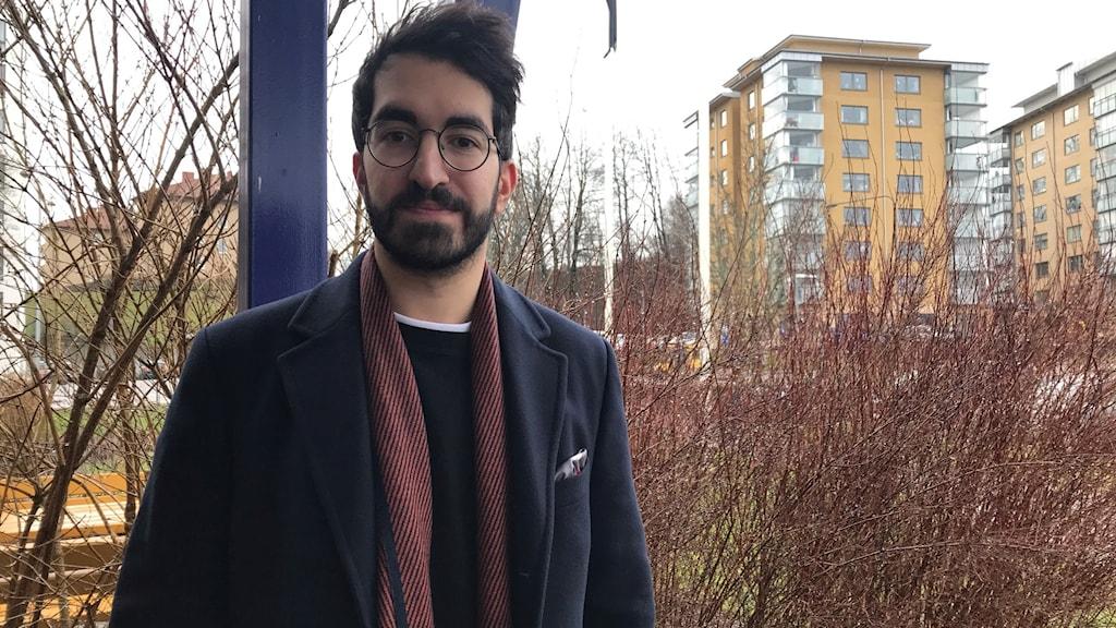 Alexander Morad, expert på sociala medier.