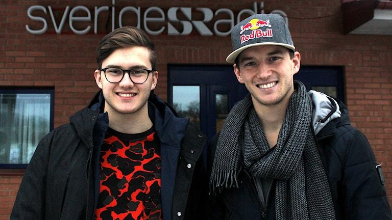 Kevin och Timmy Hansen