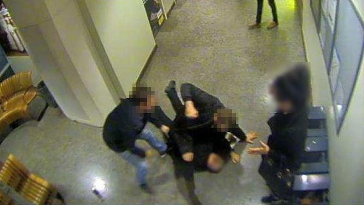 polismisshandel skövde station