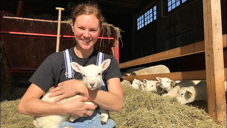 Sophie Helander, lantbrukare Floby