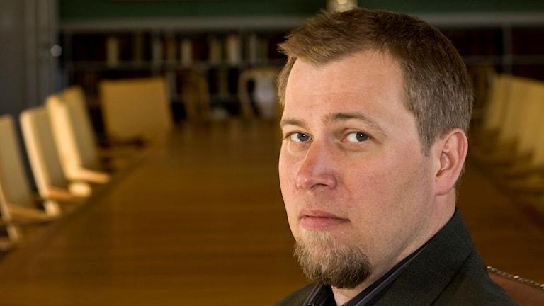 Profilbild Olle Lundin vid Uppsala universitet
