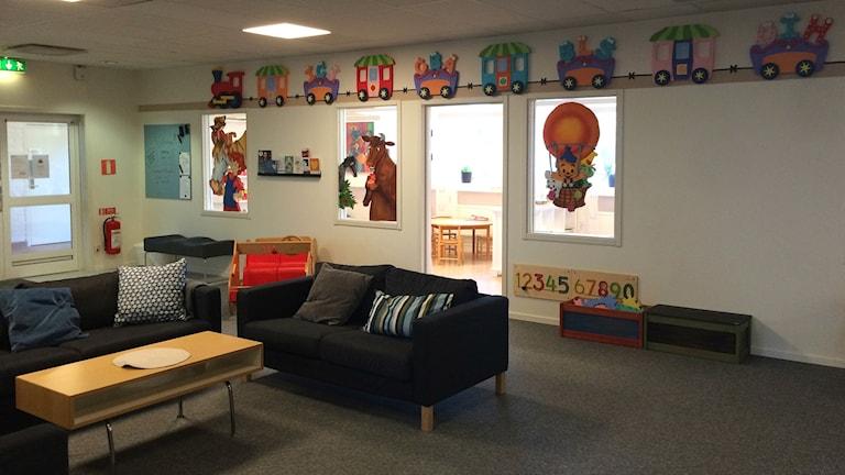 Barn- och elevhälsans nya lokaler och verksamhet i Karlsborg invigs i dag, torsdag.
