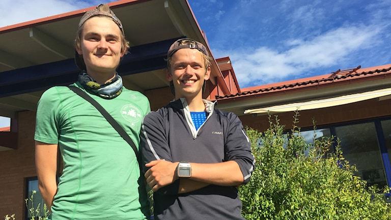 Oscar Jensen och Philip Persson