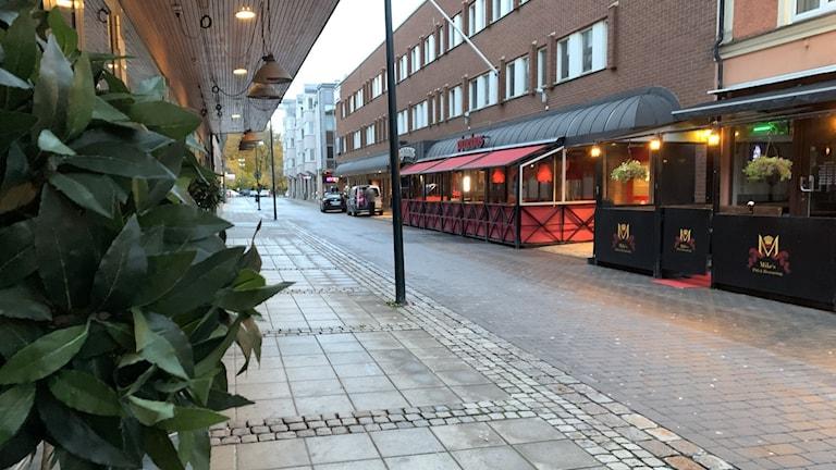 Sankt Sigfrids gata Skövde.