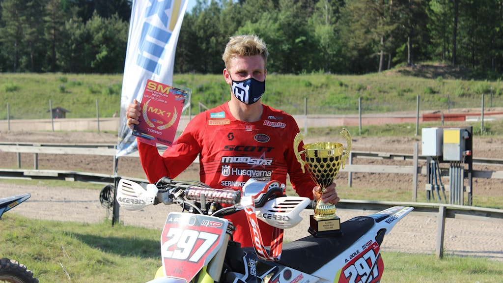 Anton Gole Motocross-SM i Tibro