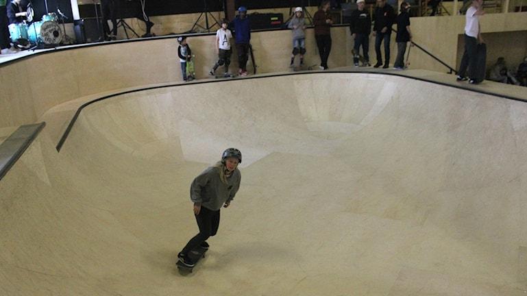 Jessica Jansson vann i grenen bowl under fredagen.