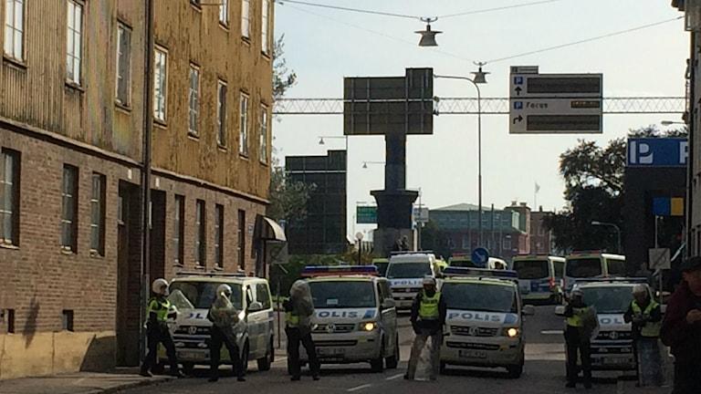 NMR-demo i Göteborg