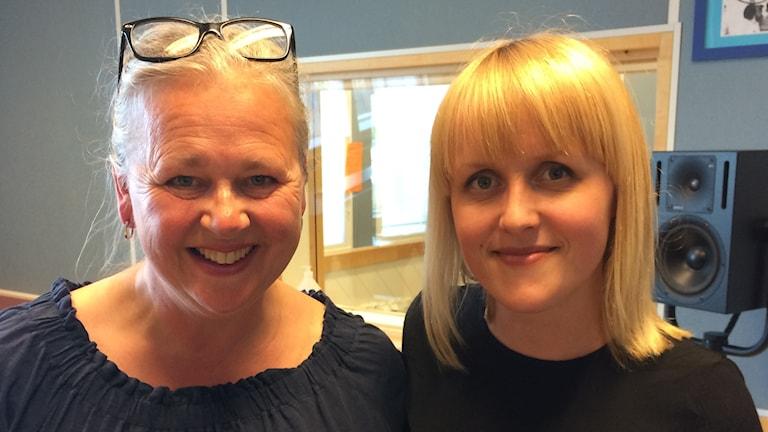 Anna-Karin Jonsson och Moa DeBruin