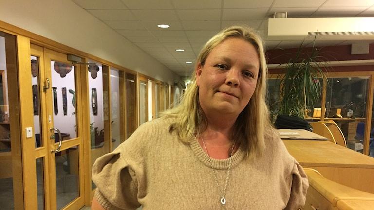 Susanne Larsson (S) ordf socialnämnden Falköping