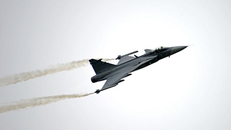 JAS 39 Gripen Foto: John Lidman Försvarsmakten