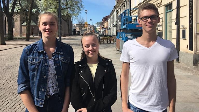 Tea, Alexandra och Jesper