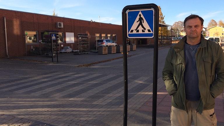 Ola Johansson, säkerhetssamordnare i Hjo