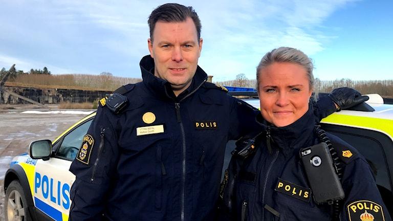 Mattias Quisth och Linn Larsson
