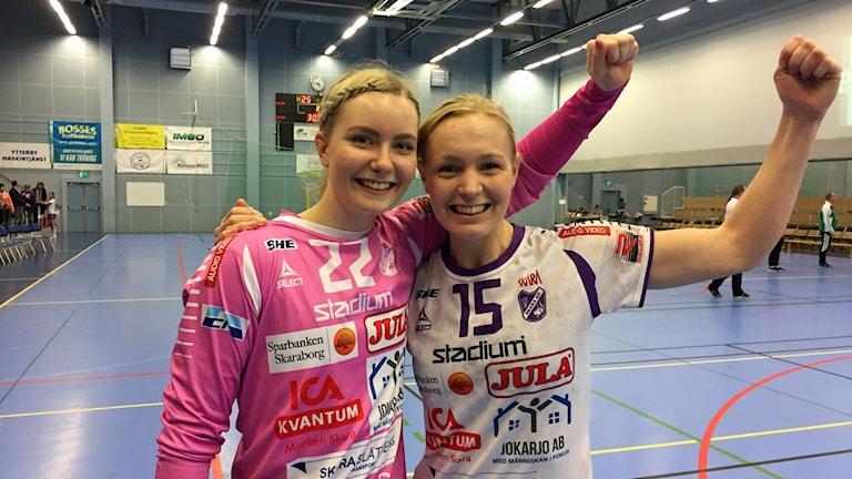 Wilma Andersson och Matilda Synnergren