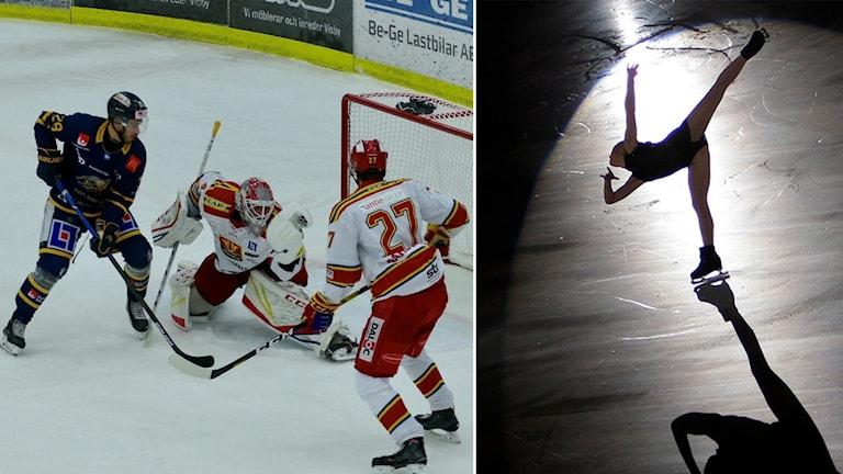 Ishockey och konståkning
