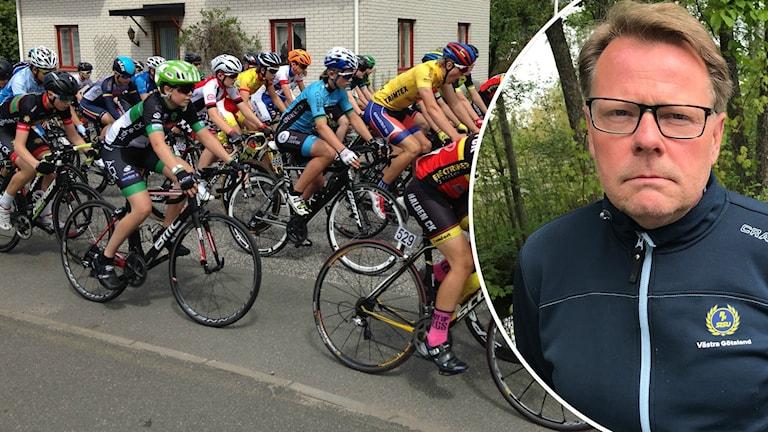 Cykelklunga och idrottskonsulent Anders Johansson