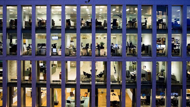 Allt fler arbetsplatser erbjuder flexibilitet.