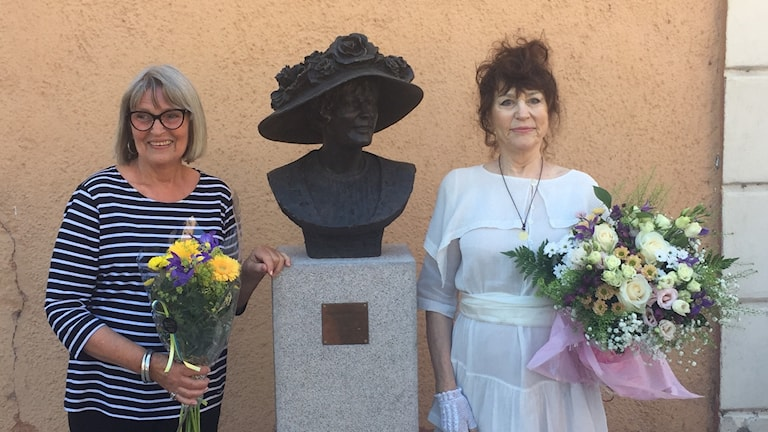 Birgitta Andersson staty