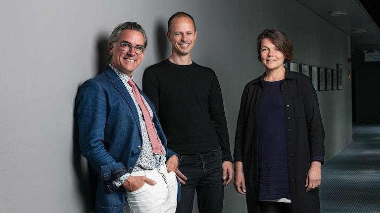 Mark Isitt, Mattias Lind och Karolina Keyzer