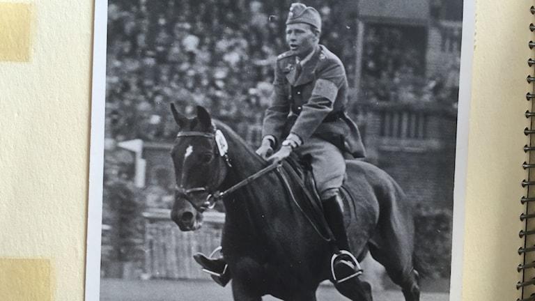 Petrus Kastenman under OS 1956