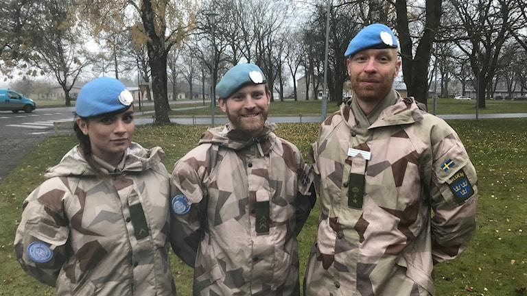 Delar av Mali 09 från Skaraborgs regemente P4